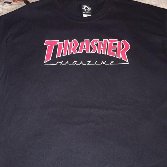 5efaa58f2152 Thrasher Magazine Shirts | Red Logo Thrasher Tshirt | Poshmark